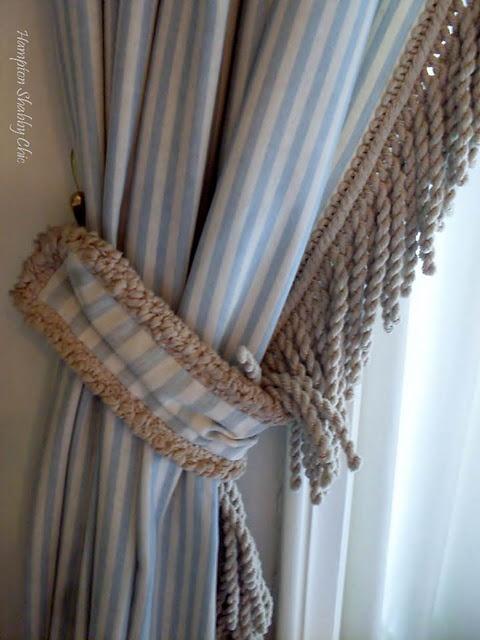 M s de 25 ideas incre bles sobre ganchos de lazos de - Lazos para cortinas ...