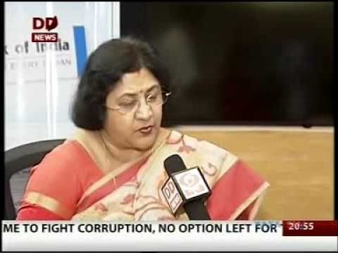 SBI Chairman, Arundhati Bhattacharya explains the need to go digital and cashless on an interview with DD News.