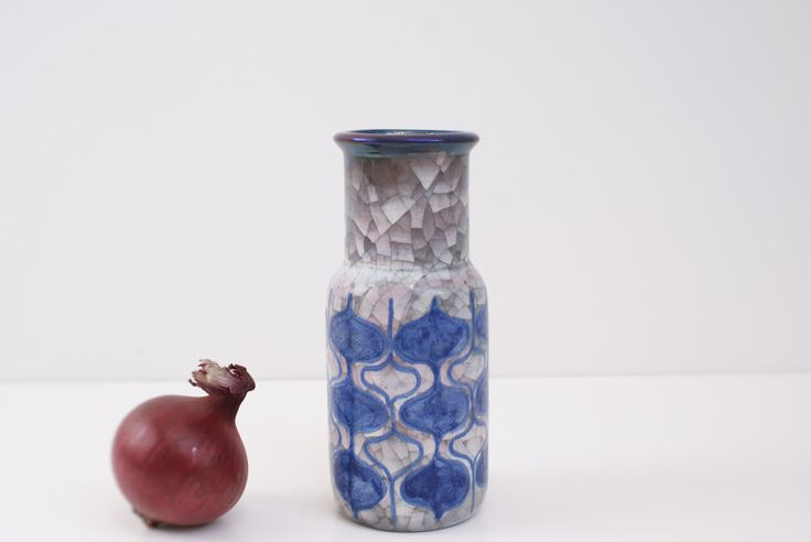 Vase from Michael Andersen, Bormholm, Denmark. Pesia. Marianne Starck. 5876 by Danishartpottery on Etsy