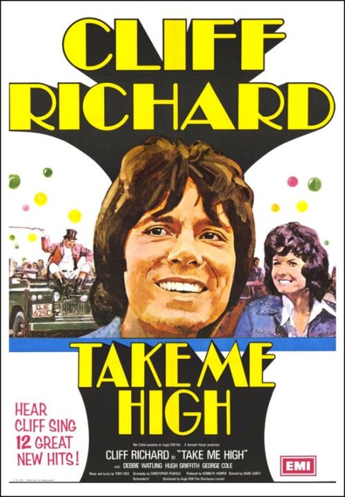 Cliff Richard in 'Take Me High' - 1974 film poster