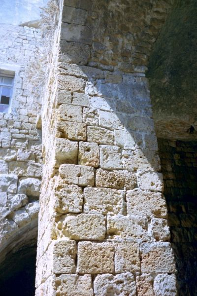 A detail of the Southern Gate way of Acre  photo mirjam Bruck-Cohen