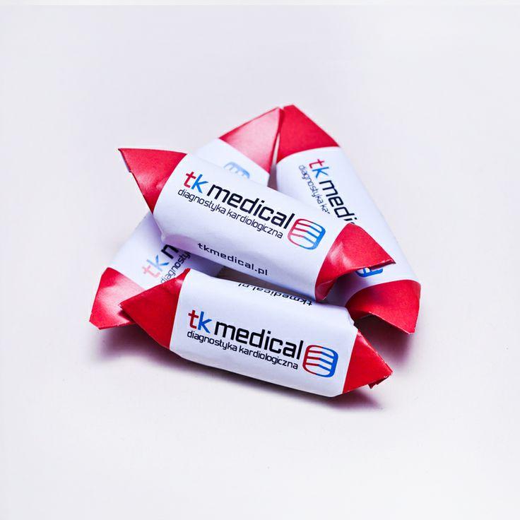 Krówki z nadrukiem TK Medical #KrowkiPolskie #krowkiZnadrukiem
