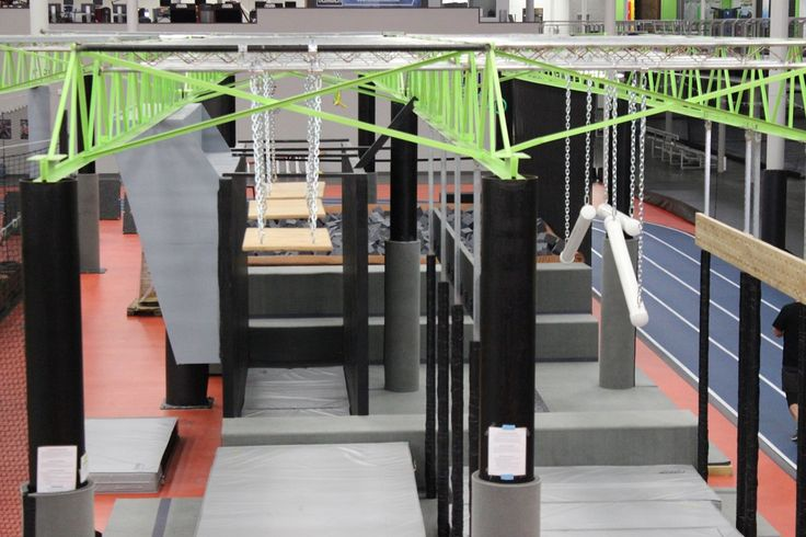 Come to the Ninja Warrior gym at Spooky Nook Sports where you can try many popular obstacles such as 10ft, 12ft, & 14ft warped walls, quad steps and more.
