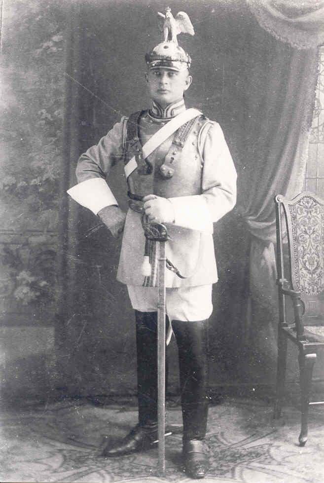Trooper From The Garde Kurassier Regiment 1815 1918