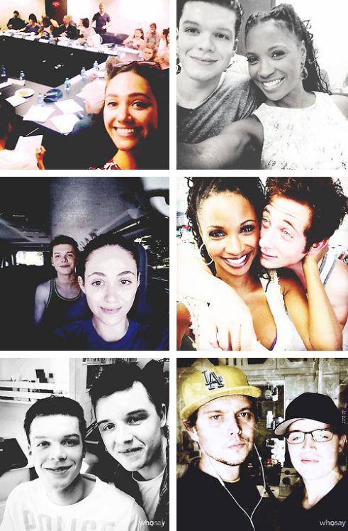 Shameless Cast + Season 5 Selfies!!