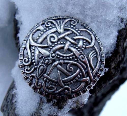 ~ Skywen ~ - silver viking brooch 11th century