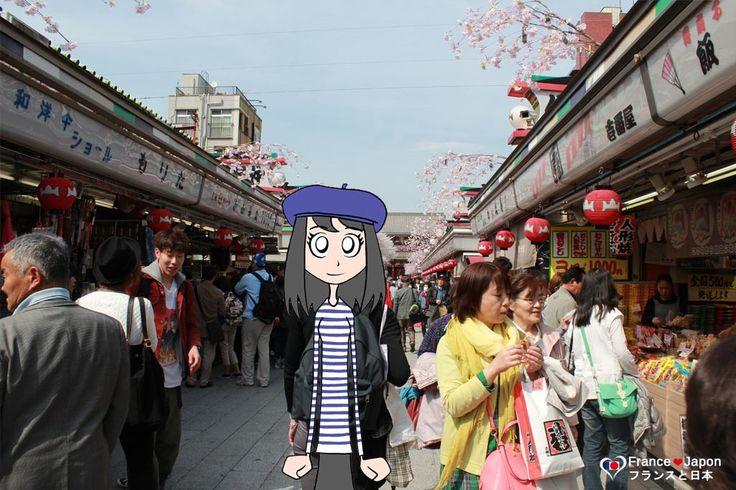 Visite du temple Senso-ji a Asakusa (tokyo)