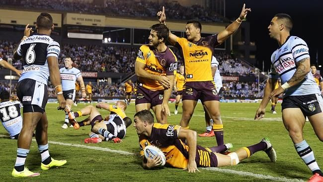 #NRL #Broncos It wasn't pretty but Brisbane got the job done — here's what we learned from Brisbane's gritty 10-2 win over Cronulla. 1 SAM Thaiday was challenged by Wayne Bennett with a demotion to the bench and responded like a champion. It was his heavy tackle that jolted the ball free for Maranta's try but more impressively was his work rate and discipline. GRITTY BRONCOS OVERCOME SHARKS 2 BEN Hunt's kicking game needs greater cons