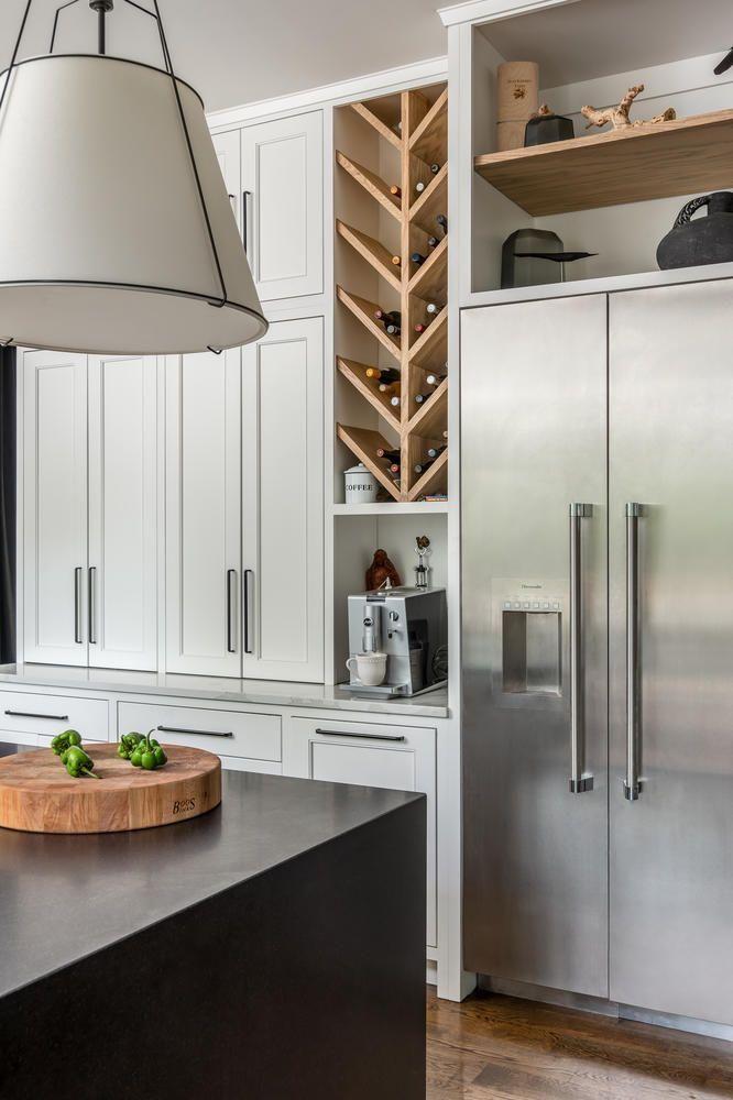 Pin By Emily Sievers On Parker Reign Kitchen Inspiration Design Kitchen Design Built In Wine Rack
