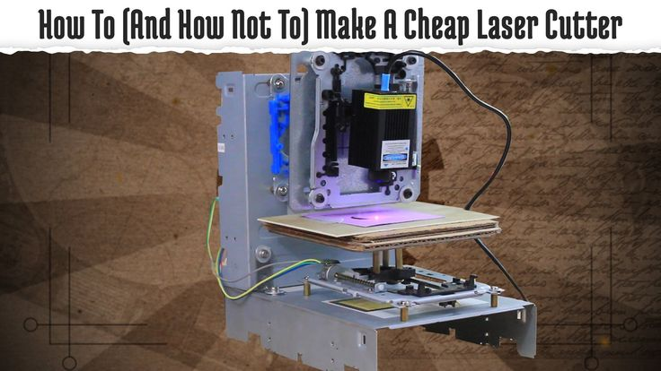 build your own laser engraving machine