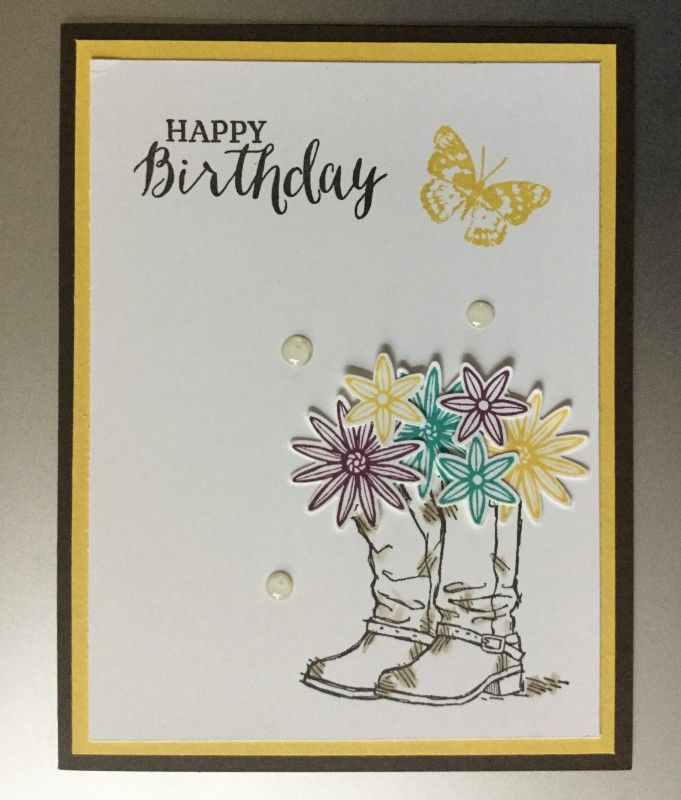 Stampin' Up! Country Livin' and Grateful Bunch