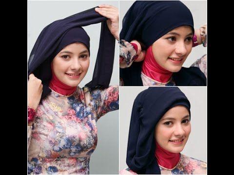 Kumpulan Tutorial Hijab/Jilbab Terbaru - Tutorial Hijab Paris Segi Empat...
