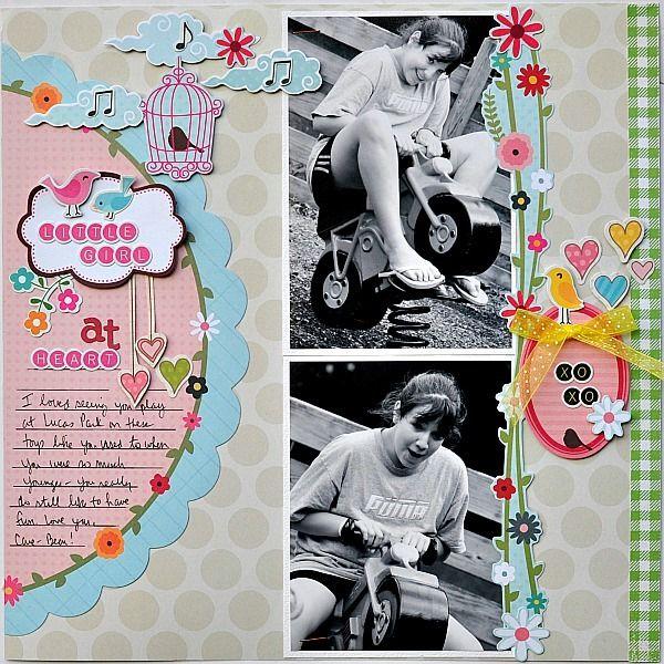 Little girl at heart - Scrapbook.com