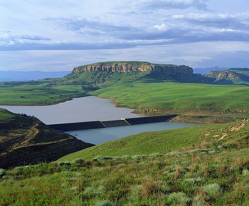 Sterkfontein Dam, Freestate, South Africa