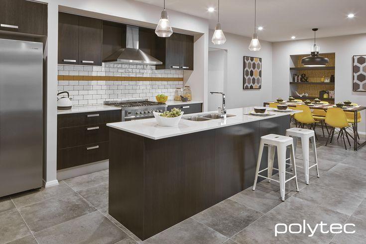 Doors and bar panel in melamine black wenge matt modern for Wenge kitchen designs