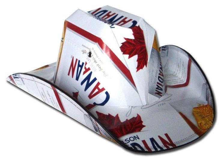 Beer Box Hat Beer Box Cowboy Hat