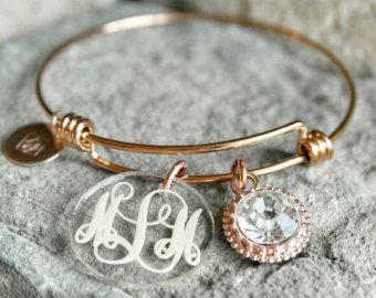 Monogramed bracelet!