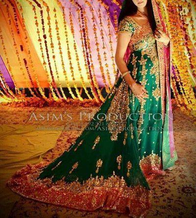 Latest Bridal Mehndi Dresses Collection 2015-2016 | StylesGap.com