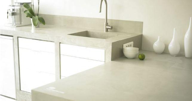 Beton cire -waxed concrete