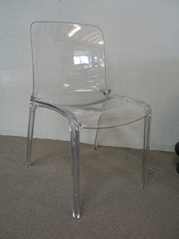Contempo Transparent Dining Chair for ONLY $99each