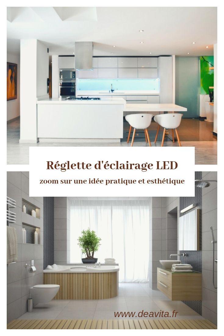 Reglette D Eclairage Led Pour Bien Eclairer La Cuisine Et La Salle