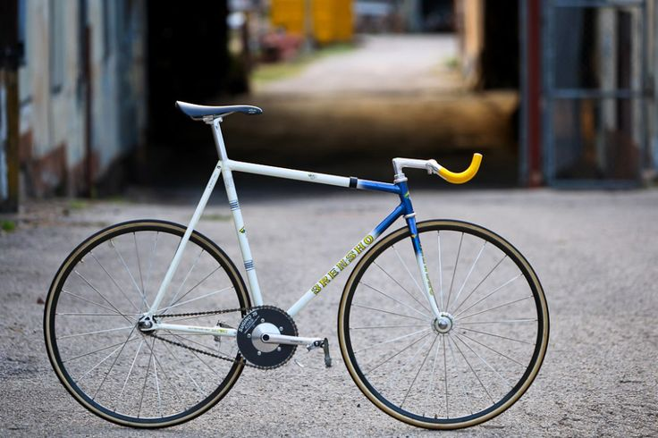 Ross' 3Rensho International Keirin Champion Track Bike
