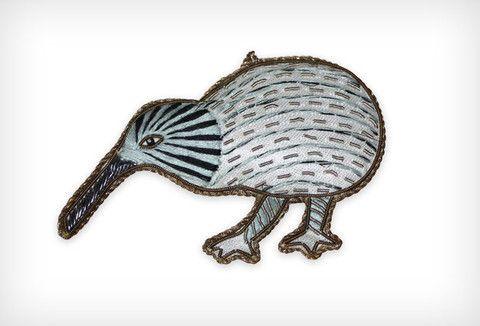 Kiwi Grey with threads – www.themotelshop.co.nz