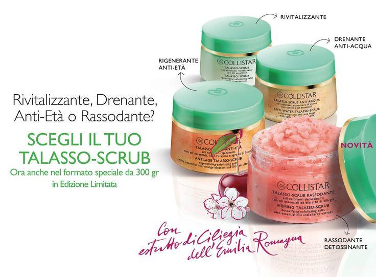 Tutti i Talasso-Scrub in edizione limitata: formato da 300gr.#Collistar #promozioni #beauty #makeup #bellezza #body #corpo #italy #italia #talasso #scrub