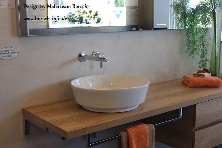ohne ohne fliesen und wandgestaltung moderne badezimmer fugenlose bad. Black Bedroom Furniture Sets. Home Design Ideas
