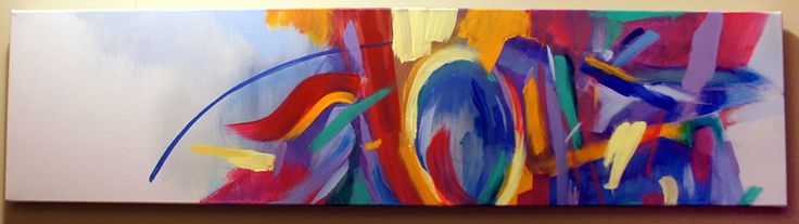 "Abstract painting ""Logic"" by artist Shane Moser www.shanemoser.com"
