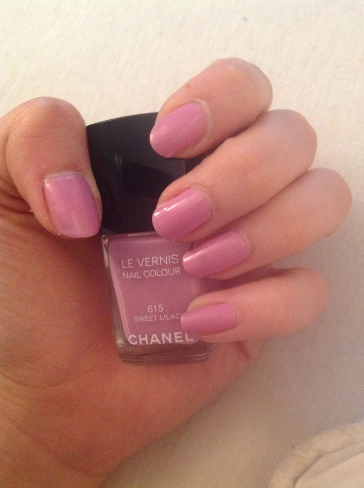 Chanel nails - 615 Sweet Lilac Got my hands on two of the new five summer collection nail polishes from Chanel. Is this gorgeous or what?