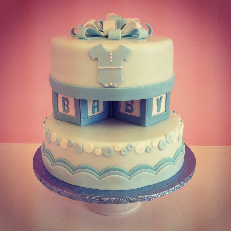 Baby Block Cake Images : 240 best images about Block Baby Shower on Pinterest Abc ...