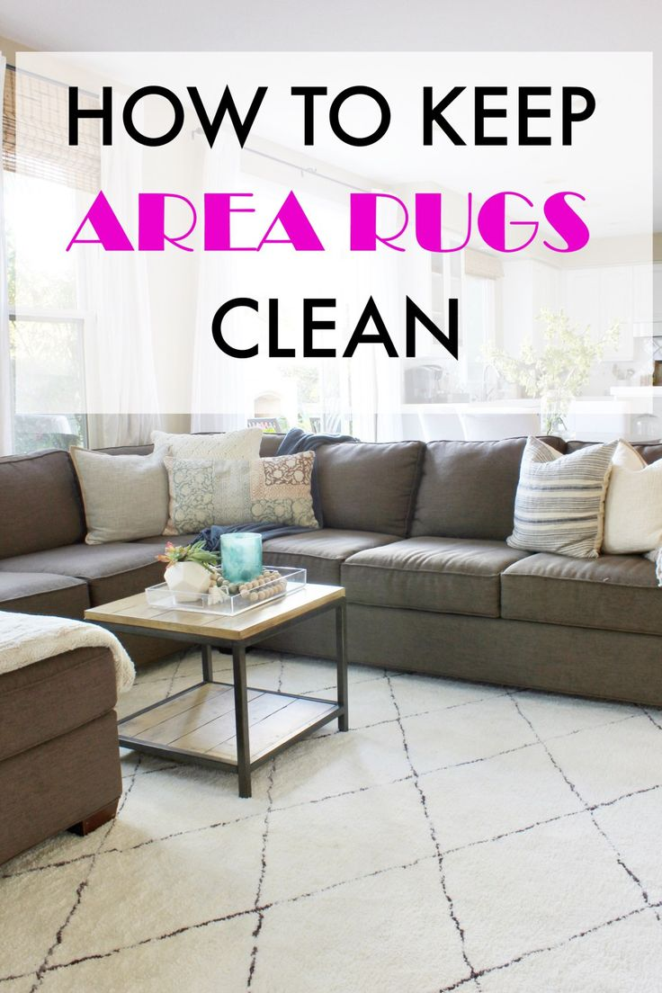 DIY-CLEANING AREA RUGS