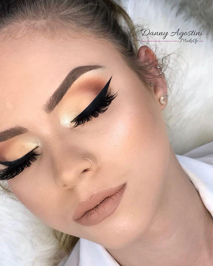 D A N N Y A G O S T I N I On Instagram Boa Noiteeee Pra Quem Sempre Pergunt Maquillaje De Ojos Sutil Maquillaje Para Vestido Blanco Delineado Perfecto