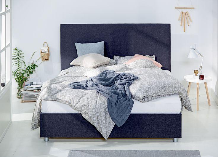 Kontinentalseng, ANASOFIE sengetøy | Nordic Bohem | Skandinaviske hjem, nordisk design, Skandinavisk design, nordiske hjem, soverom, lyst soverom | JYSK