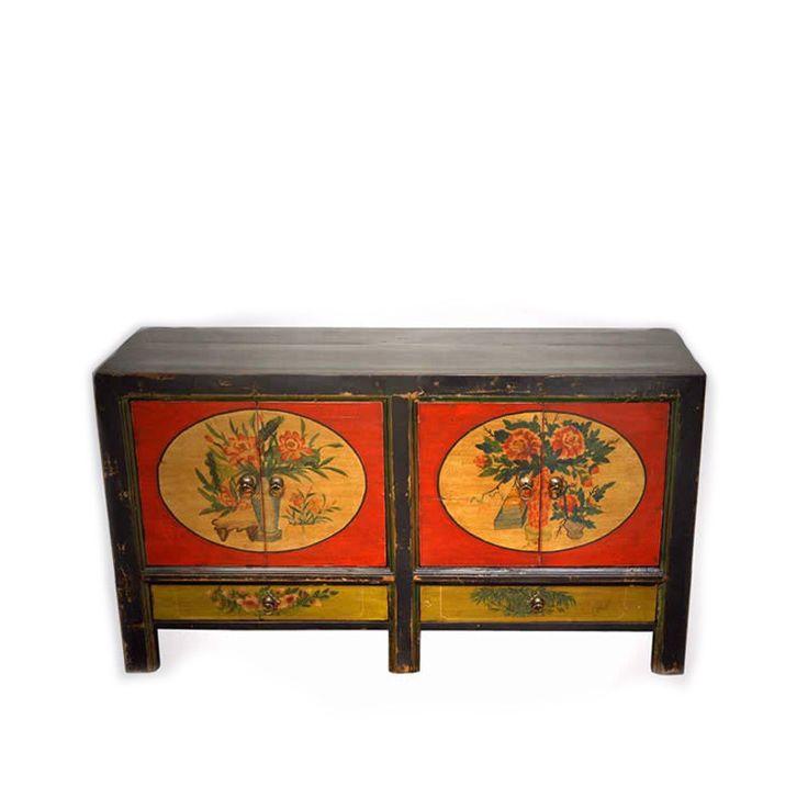Mongolian Antique Sideboard