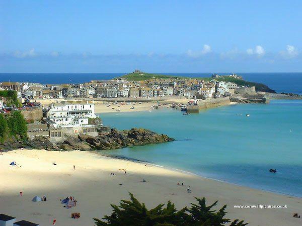 St. Ives Bay Cornwall UK