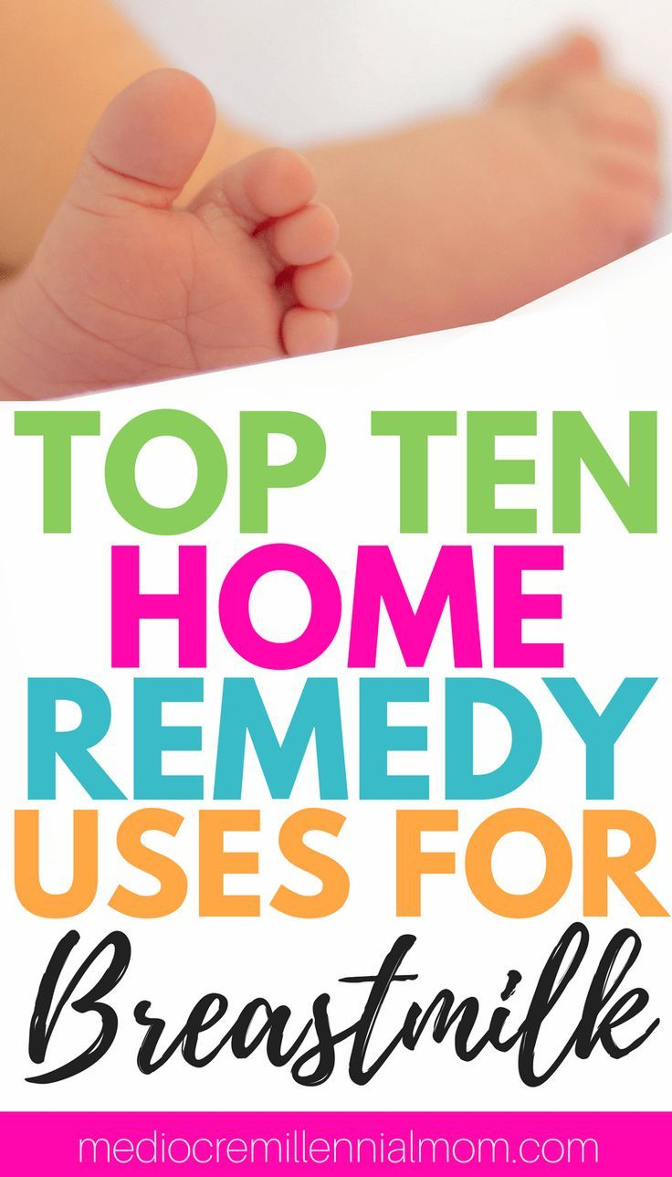 Breastmilk can be used for more than just nourishment for your baby. Here is the top ten home remedy uses for breastmilk. Natural remedies for infants.