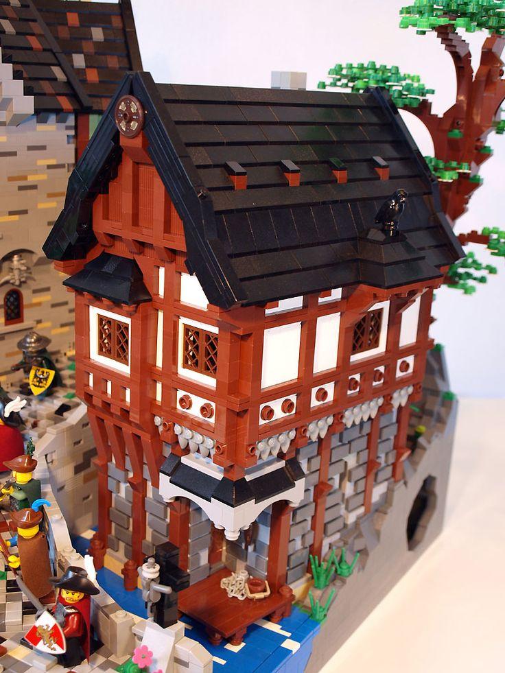 37 Best Images About Lego Castle Ideas On Pinterest Lego