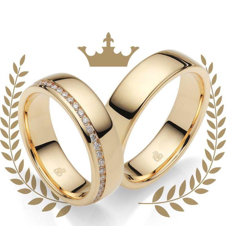 TrauringeGelbgoldRauschmayer  dream wedding  Hochzeit ringe Trauringe en Ringe