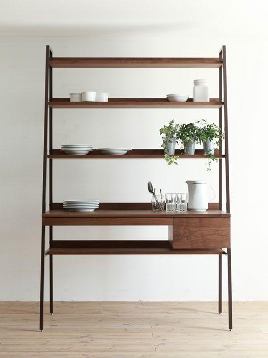 hiromatsu | solo desk in walnut