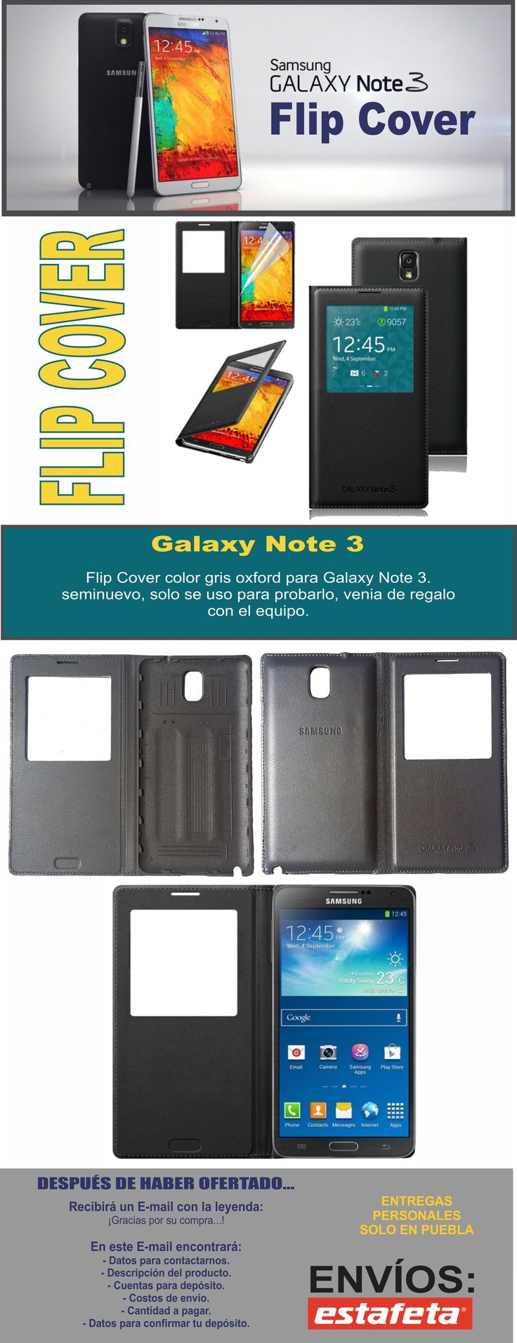 Flip Cover Galaxy Note 3