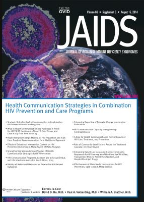 New JAIDS Supplement Highlights Health Communication's Essential Role in HIV Prevention and Care - Health Communication Capacity Collaborative - Social and Behavior Change Communication
