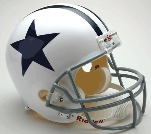 Dallas Cowboys Helmet Riddell Replica Full Size VSR4 Style 1960-1963 Throwback