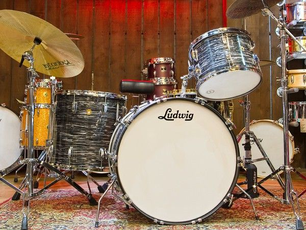 how to assemble ludwig drum set