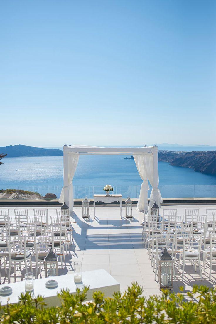 Le Ciel Santorini Wedding Venue. Le Ciel is on the Caldera in Imerovigli. Wedding Receptions, Wedding Ceremonies and Fab Events. We offer a delicious choice of menus