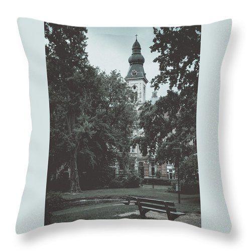 Travel Throw Pillow featuring the photograph Pictures Of Ghent. Part 2 by Elena Ivanova IvEA  #ElenaIvanovaIvEAFineArtDesign #Design #Pillow #Cushiоn #HomeDecor #Gift