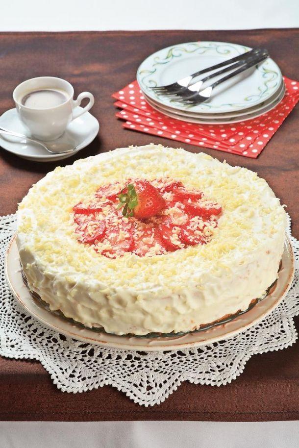 Lehký dort s mascarpone a čokoládou