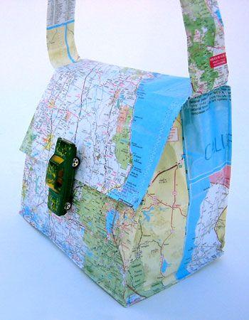 DIY | Map Purse