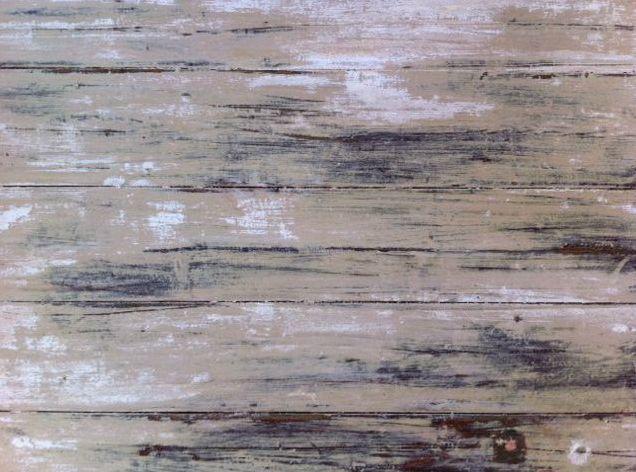 Distressed Beige Trestle Table Top 73cm x 195cm to hire from The Establishment Studios
